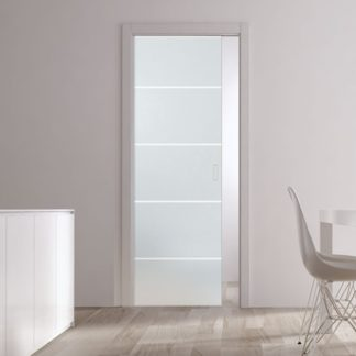 Eclisse-pocket-door-system-uk-single-glass