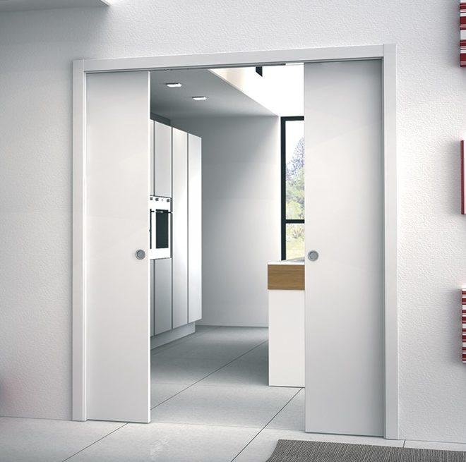 Eclisse Double Pocket Door System The Pocket Door Company