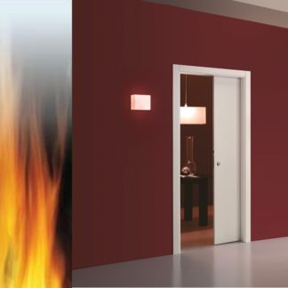 Eclisse pocket door fire rated