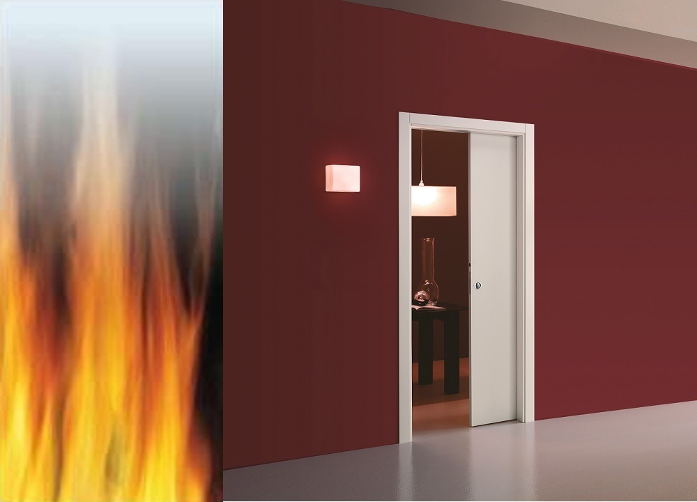Eclisse Pocket Door System Classic Single Fire Rated