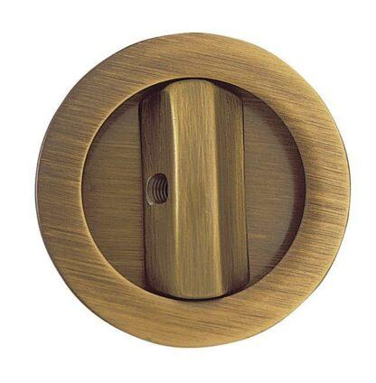 Sliding Door Bathroom Lock Brass