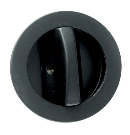 Sliding Door Bathroom Lock Black