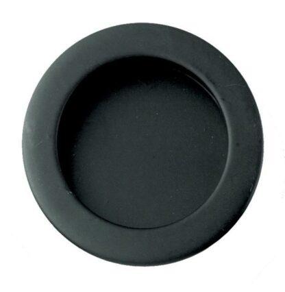 Eclisse Flush Pull Round Black