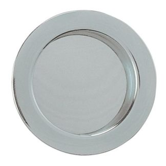 Eclisse Flush Pull Round Polished Chrome