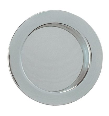 Eclisse Flush Pull Round Polished Chrome