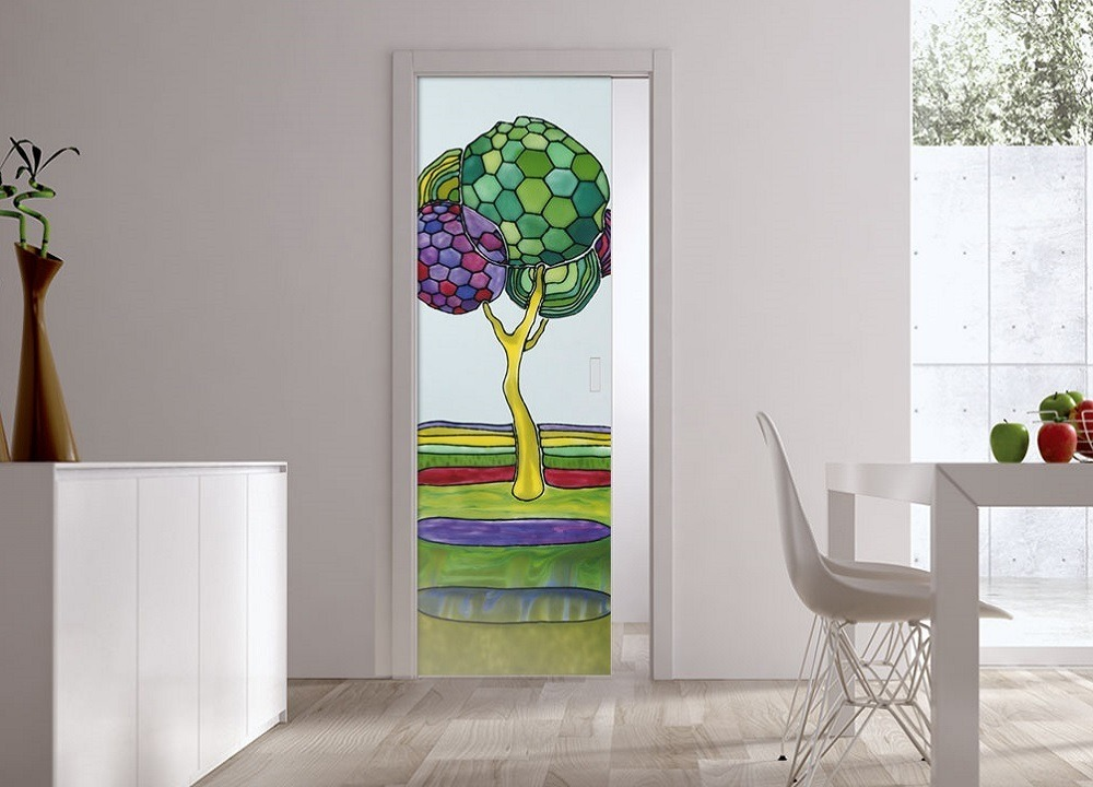 Eclisse Pocket Door Systems Classic Single Glass Doors